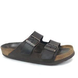 Birkenstock Brown Leather Sandals Size 8